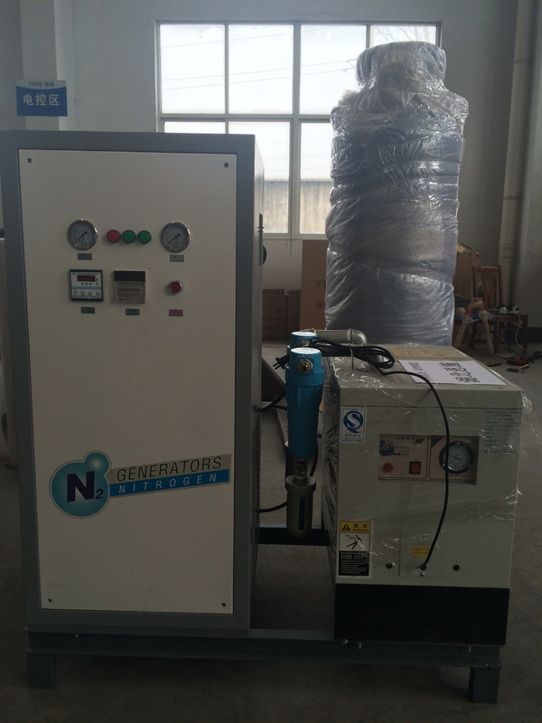3 Nm3/H High Purity 99.9% Small PSA Nitrogen Generator With 0.1~1.0 MPa N2 Pressure